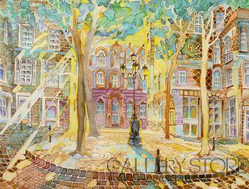 Joanna Rzeźnik-Square-Akwarela