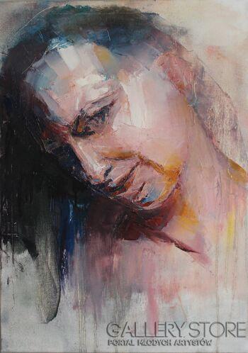 "Joanna Sokolowska-from ""Beyond"" series-Olej"