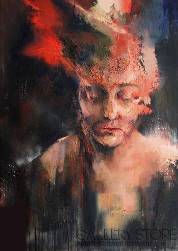 """Joanna Sokolowska-z serii """"Emocje"""" 10-Olej"""