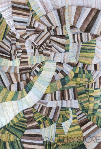 Joanna Wietrzycka-Mind map-Rysunek