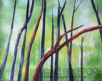 Jolanta Kitowska-Taniec drzew 6-Olej