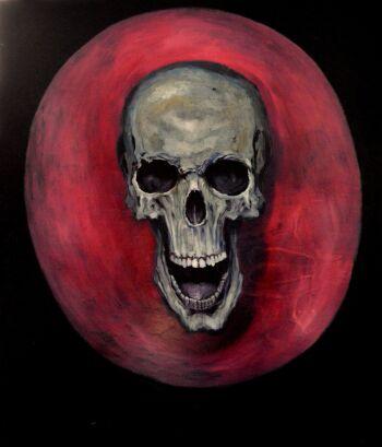 Kacper Piskorowski-Skull-Olej