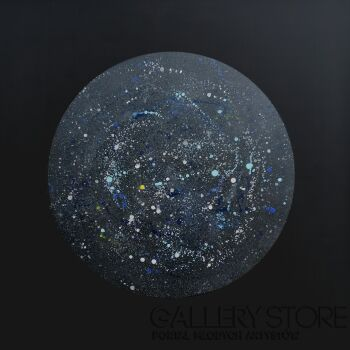 Kaja Niedźwiecka-Planeta wyobraźni-Akryl