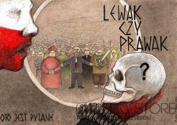 Kamil Jerzyk-Lewak czy prawak?-Rysunek