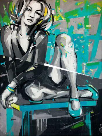 Kamila Jarecka-BLUE 2-Akryl