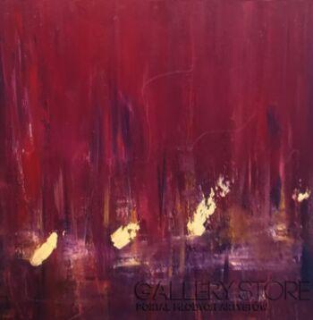 Kamila Krętuś-abstract4-Olej