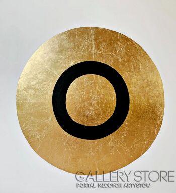 Kamila Lenska-Golden Circle 04-Technika mieszana