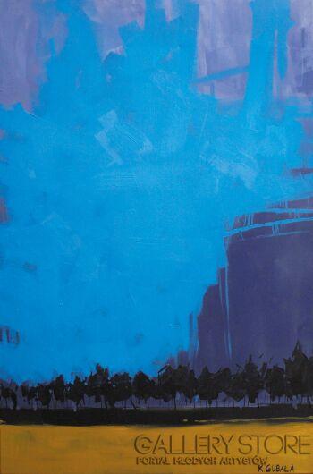 Karolina Gubała-abstrakcja 2-Akryl