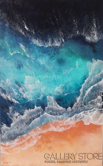 Karolina Majer-Ocean's waves-Akryl