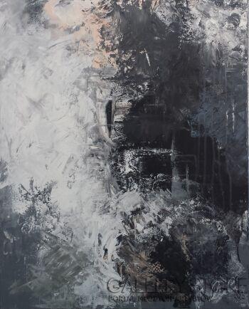 """Kasia Puchowska-""""Dym""""-Akryl"""