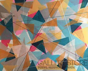 Kasia Puchowska-Kolorowy kalejdoskop 3-Akryl
