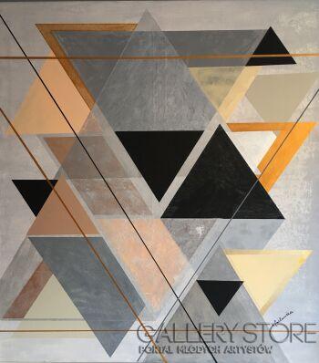 Kasia Puchowska-Triangle-Akryl
