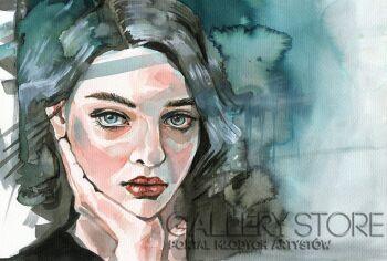 Katarzyna Bruniewska-Gierczak-Zmysłowa-Akwarela