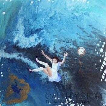 Katia Meller-Czasoprzestrzeń-Akryl