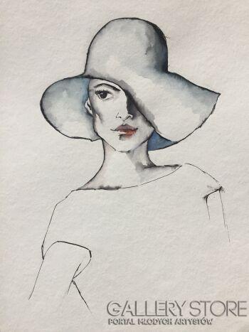 Katia Melkadesign-W cieniu kapelisza-Akwarela