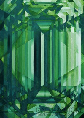 Koko  Rothschild -Emerald green-Olej