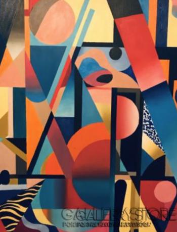 Koko  Rothschild -Abstrakcja 1 -Olej