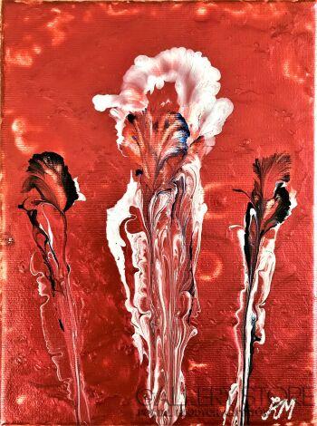 Krzysztof Mandau-Flower II-Akryl