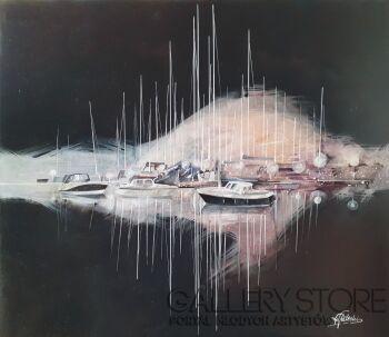 Lech Ledecki-SEN MARINY-Olej