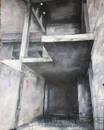 Lubosław Pirjankow-Urban exploration-Akryl