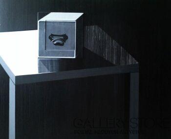 Magdalena Leśniak-kompozycja monochromatyczna-Akryl
