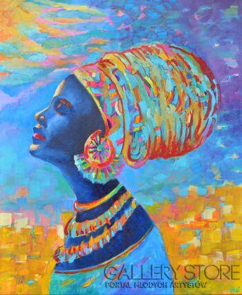 Magdalena Walulik-African Beauty-Olej