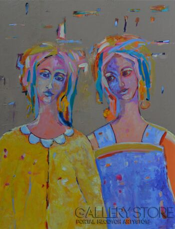 Magdalena Walulik-Ludzie - Kobieta dla kobiety-Akryl