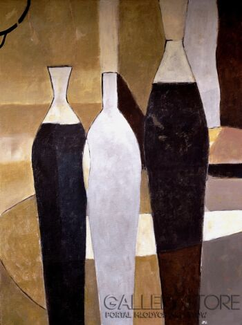 Magdalena Walulik-Martwa natura, minimalizm-Olej
