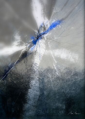 Maggi Megane-niebieski ptak-Grafika