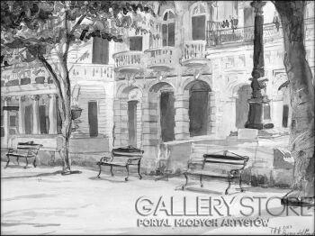 Małgorzata Żołnowska-Havana Prado-Akwarela