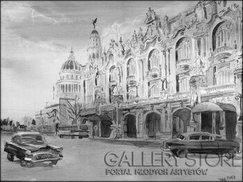 Małgorzata Nowak-Havana Teatr Wielki-Akwarela