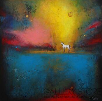 Małgorzata Rukszan-Sweet dream-Akryl