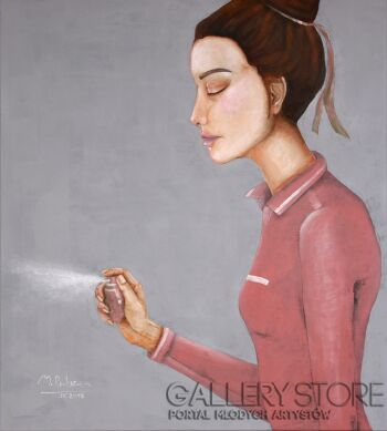 Małgorzata Rukszan-Wspomnienie minionego świata -Akryl