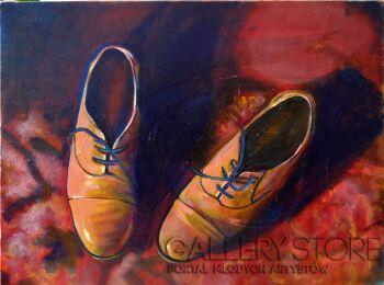 Marcin Grzelczak-samotne buty-Olej