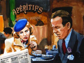 Marcin Kędzierski-Casablanca-w kawiarni-Akwarela