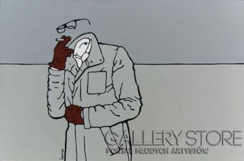 Marcin Lenczowski-Szary nr14-Akryl