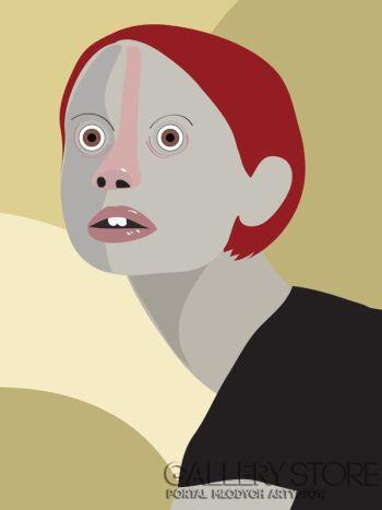 Marcin Waśka-Wielkie oczy-Grafika