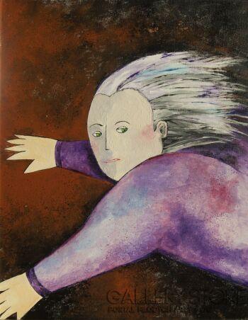 Maria Michoń-Mały Książę-Akryl