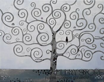 Maria Lewicka-Drzewo-Akryl