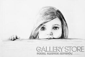Maria Lewicka-Oczy-Rysunek