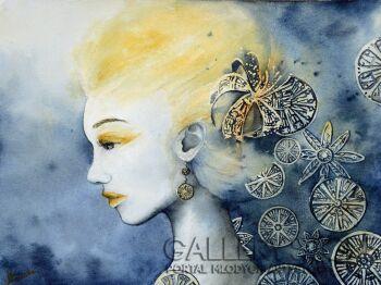 Maria Lewicka-sensation 1-Akwarela