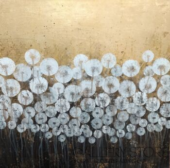 Mariola Świgulska-Enchanted dandelions-Akryl