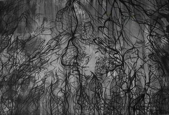 Mariola Świgulska-Oczy duszy-Technika mieszana