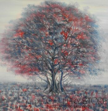 Mariola Świgulska-Rubionowe drzewo-Olej