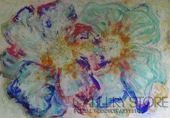 Mariola Świgulska-Taniec kwiatów-Akryl