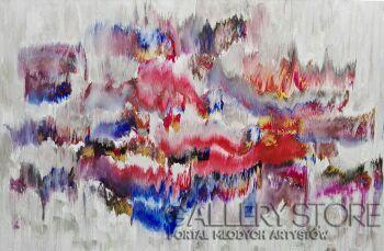 Mariola Świgulska-Wibracje przestrzeni-Akryl