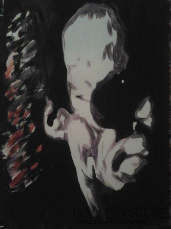 Mariusz Harmasz-Miles ( Miles Davis )-Technika mieszana