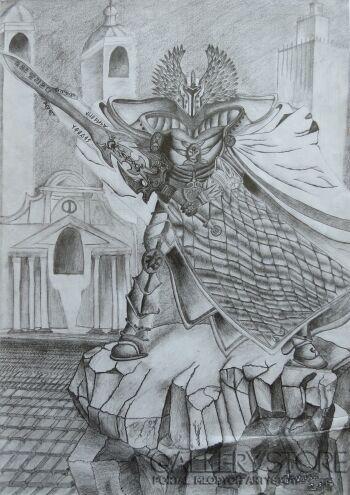 Aneta  Lachendro-Rycerz -Rysunek