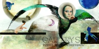 Marta Specht-Safian-Ptaki pełni Księżyca-Grafika