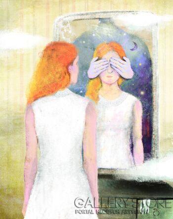 Marta Specht-Safian-W pokoju-Grafika